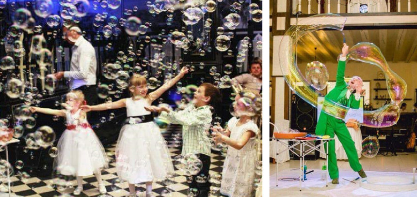 Bubble Show – wyjątkowy spektakl