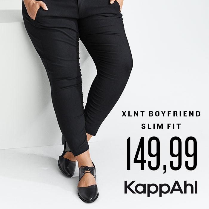 KAPPAHL: spodnie Boyfriend slim w kolekcji XLNT