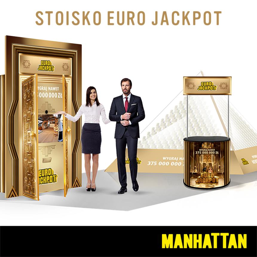 Stoisko Euro JackPot w GCH Manhattan