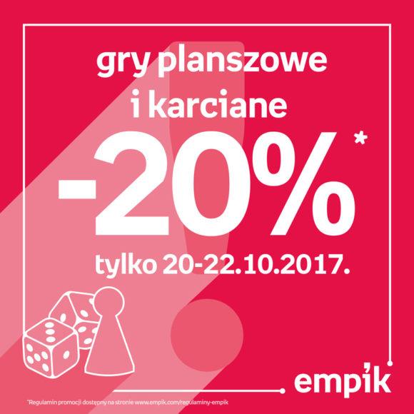EMPIK: -20% na gry planszowe i karciane