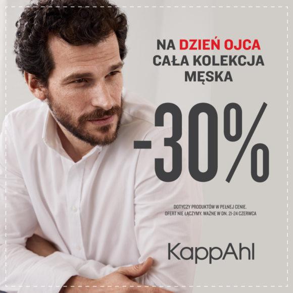 KAPPAHL: kolekcja męska -30%