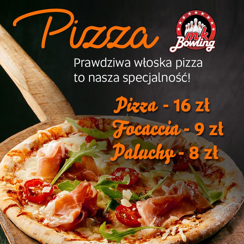MK BOWLING: włoska pizza to nasza specjalność