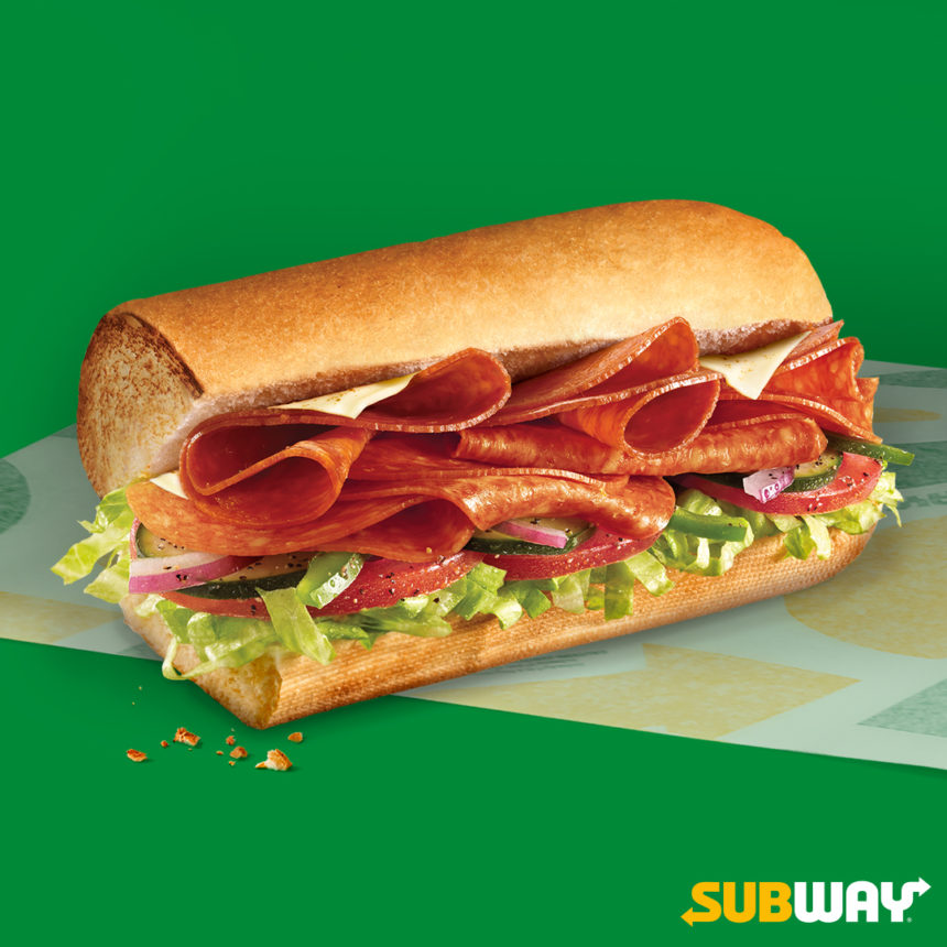 SUBWAY: sub Pepperoni Melt za 8,25 zł