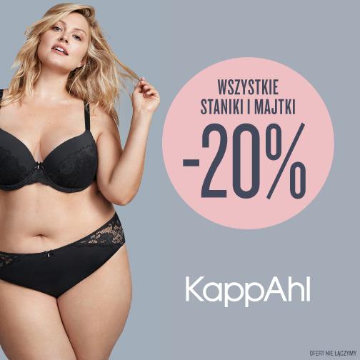 KAPPAHL: -20% na wszystkie staniki i majtki