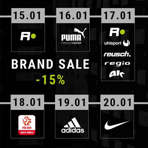 RGOL: brand sale -15%