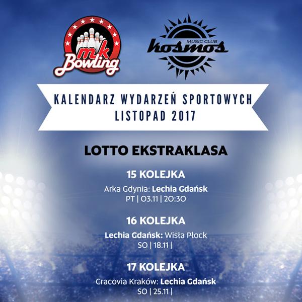 MK BOWLING: wydarzenia sportowe w listopadzie
