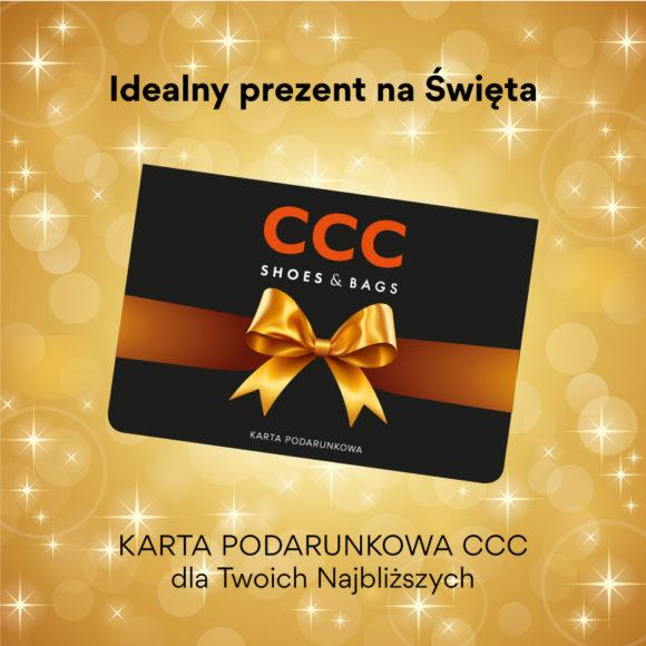 Karta podarunkowa CCC – idealny prezent na święta!