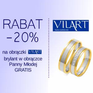 VILART: -20% na obrączki ślubne