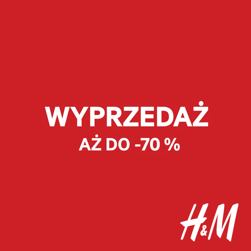 Jeszcze większe rabaty w H&M!