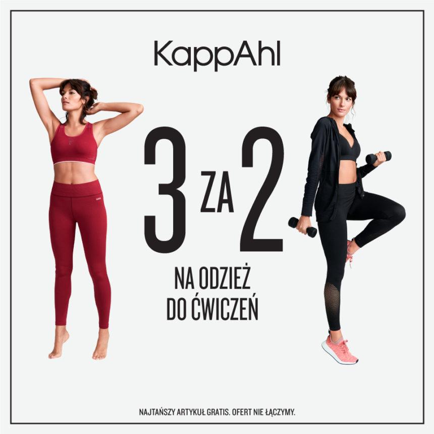 KAPPAHL: 3 za 2 na kolekcję Active Wear