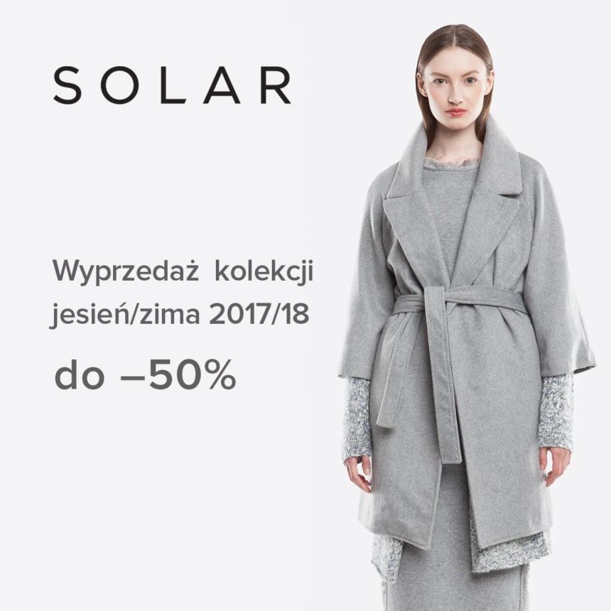 SOLAR: wyprzedaż do -50%