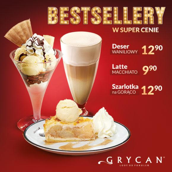 GRYCAN: bestsellery w super cenie