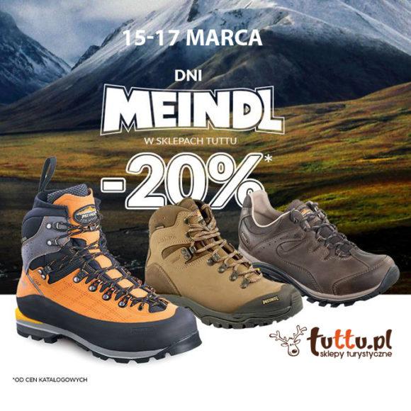 TUTTU: dni marki Meindl i rabat -20%