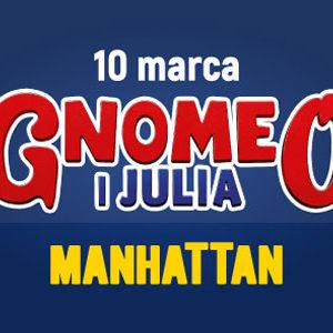 """Gnomeo i Julia"" w GCH Manhattan"