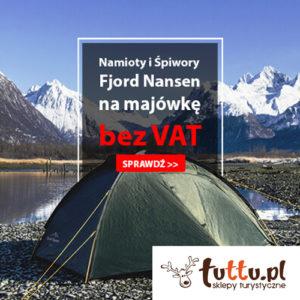 TUTTU: namioty i śpiwory bez VAT
