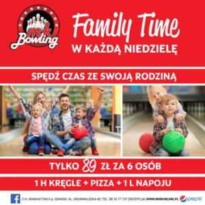 MK BOWLING: Family Time w każdą niedzielę