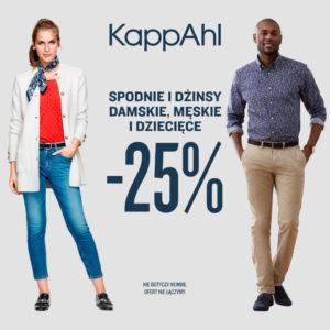 KAPPAHL: spodnie i dżinsy -25%
