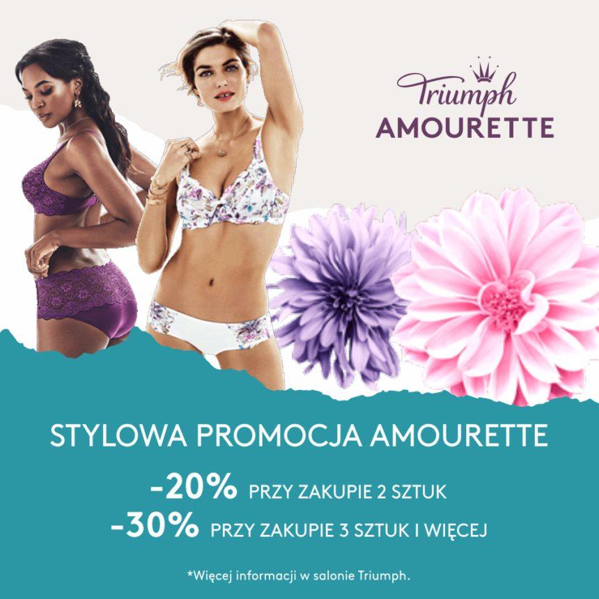 TRIUMPH: stylowa promocja na kolekcję Amourette