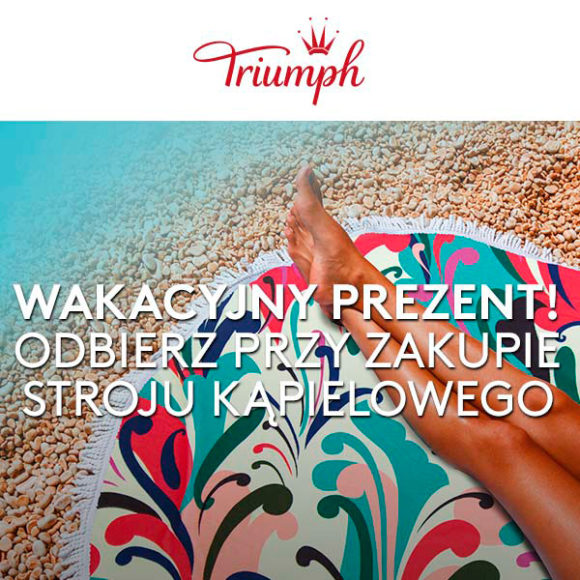 TRIUMPH: kup strój kąpielowy i odbierz prezent