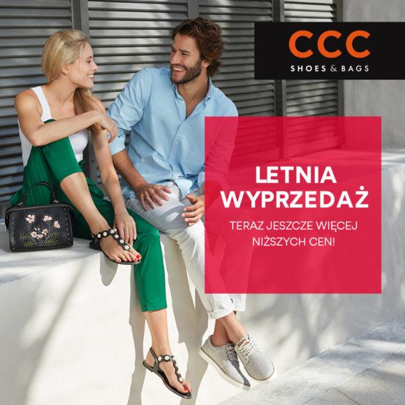 CCC: letnia wyprzedaż – jeszcze więcej niskich cen