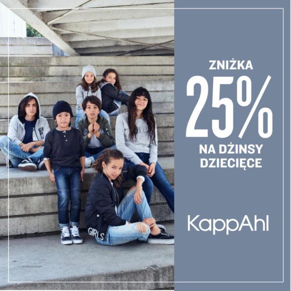 KAPPAHL: -25% na dżinsy dziecięce