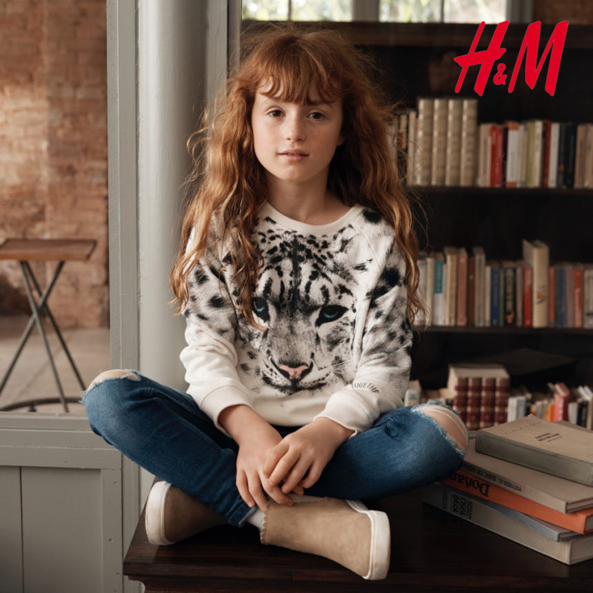 H&M: kolekcją dla najmłodszych wspiera WWF