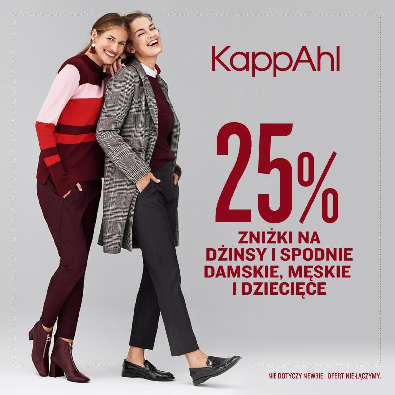 KAPPAHL: -25% na wszystkie spodnie