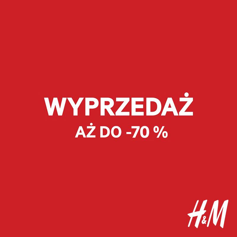 H&M: wyprzedaż aż do -70%