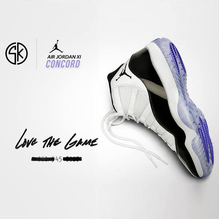 SKLEP KOSZYKARZA: premiera butów Air Jordan 11 Retro Concord