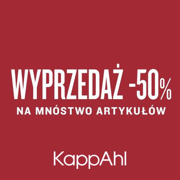 KAPPAHL: wyprzedaż do -50%
