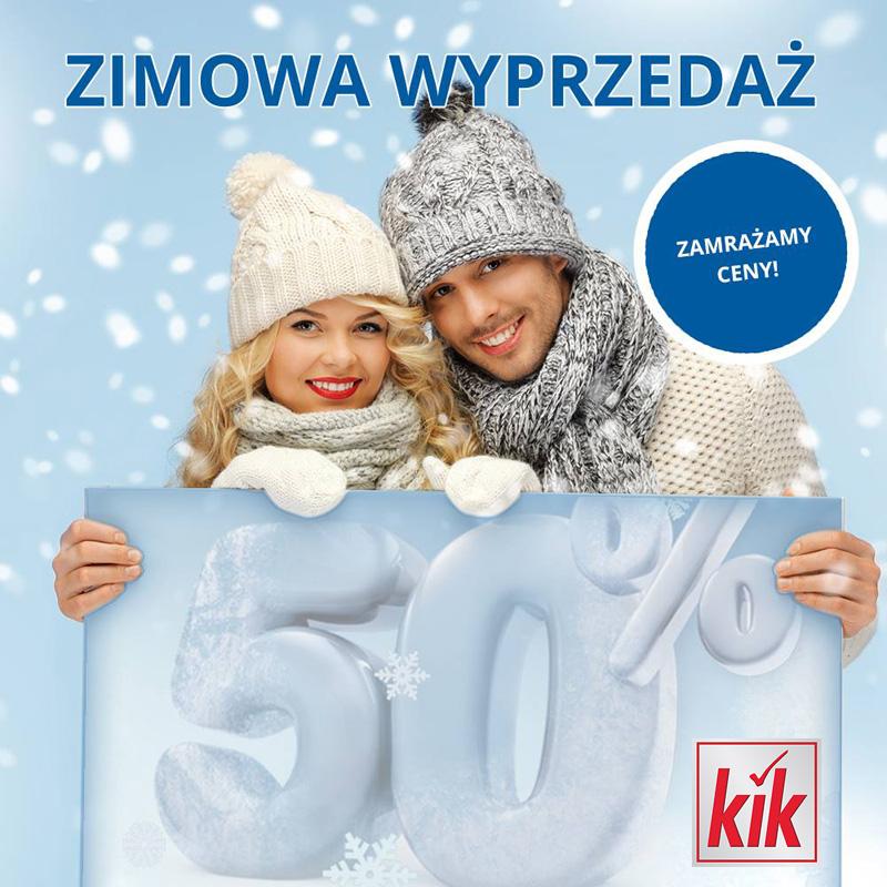 KIK: zimowa wyprzedaż
