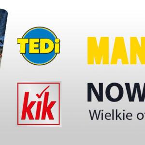 Wielkie otwarcie salonów KiK i TEDi