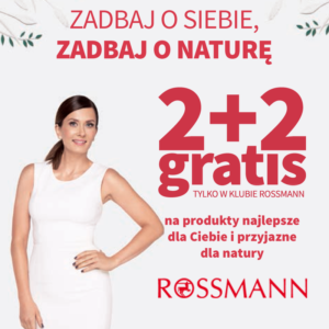 ROSSMANN: promocja 2+2 powraca