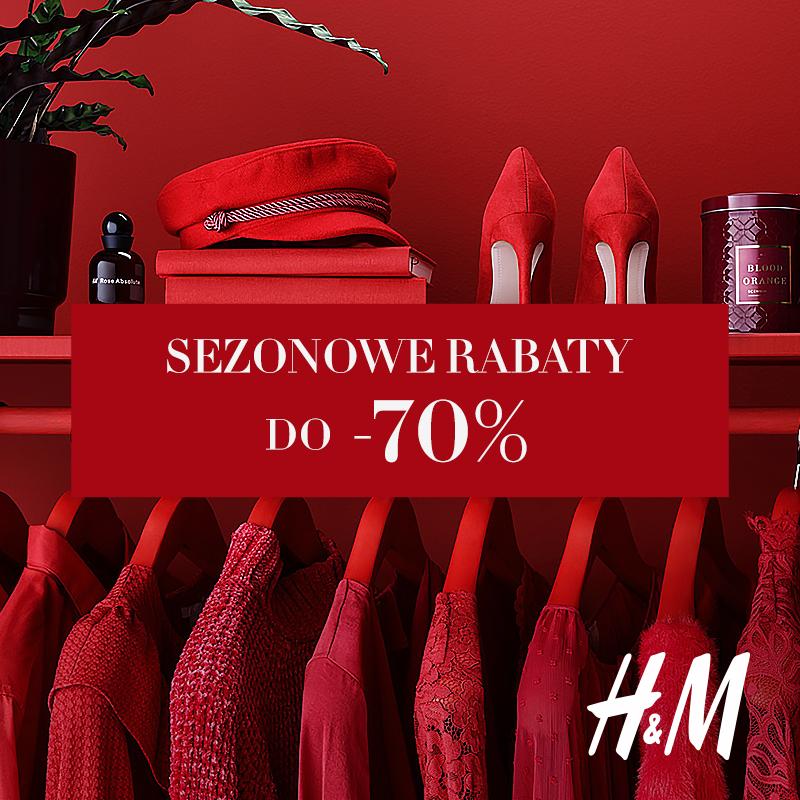 H&M: sezonowe rabaty do -70%