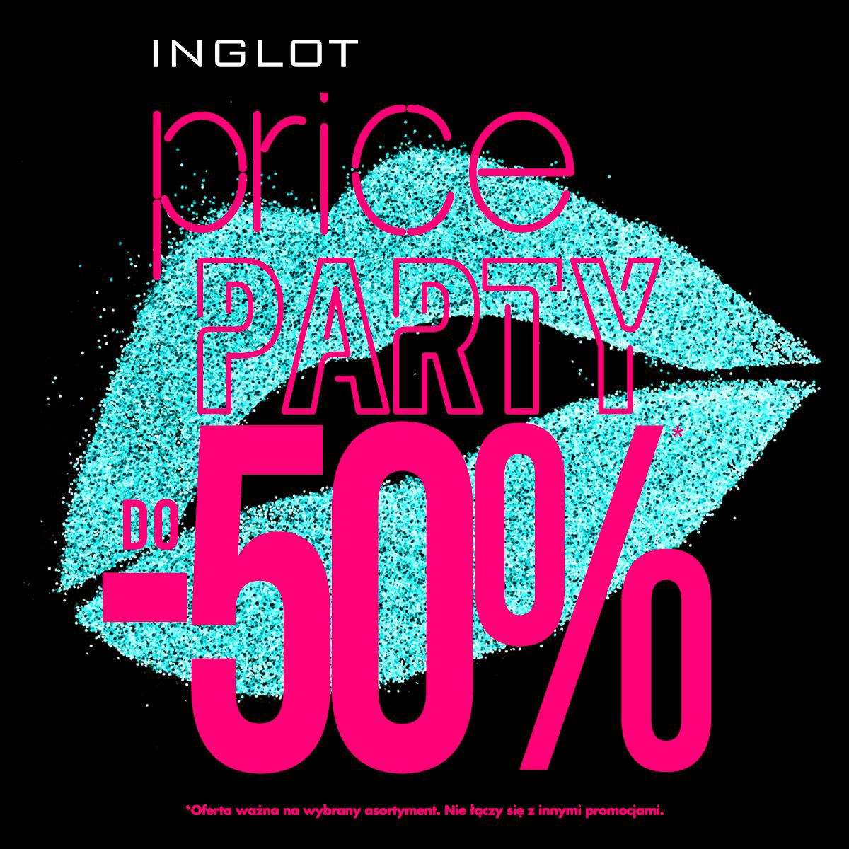 INGLOT: price party -50%