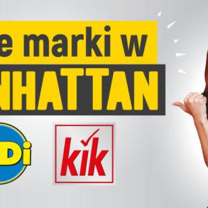 Nowe marki w Manhattanie: KiK i TEDi