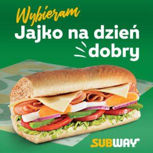 SUBWAY: nowy sub – jajko na dzień dobry!