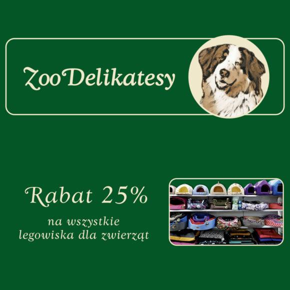ZOO DELIKATESY: wszystkie legowiska -25%