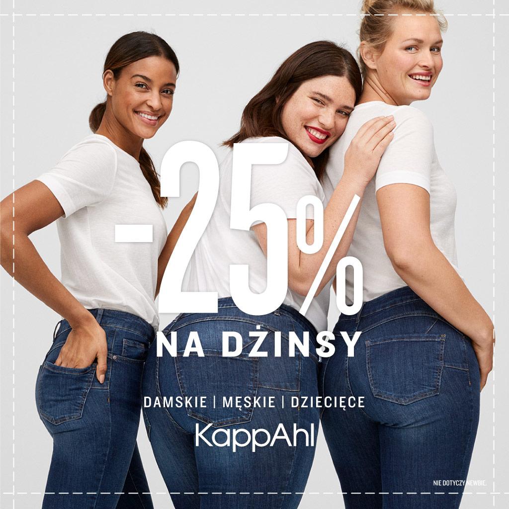 KAPPAHL: wszystkie dżinsy -25%