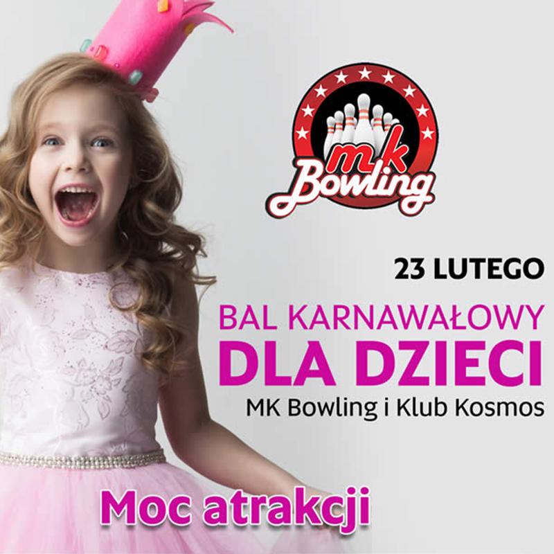 MK BOWLING: bal karnawałowy