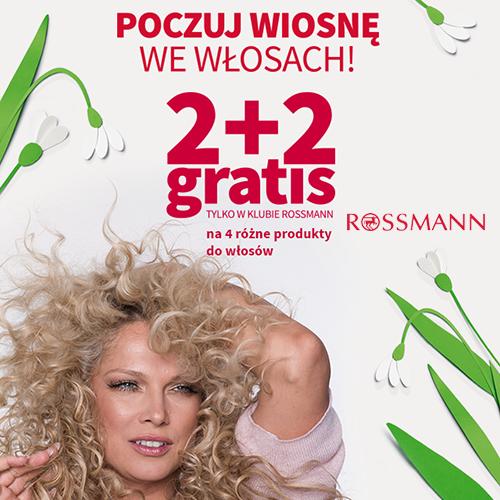 ROSSMANN: 2+2 produkty do włosów