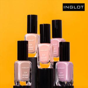 INGLOT: nowe kolory lakierów do paznokci INGLOT O2M