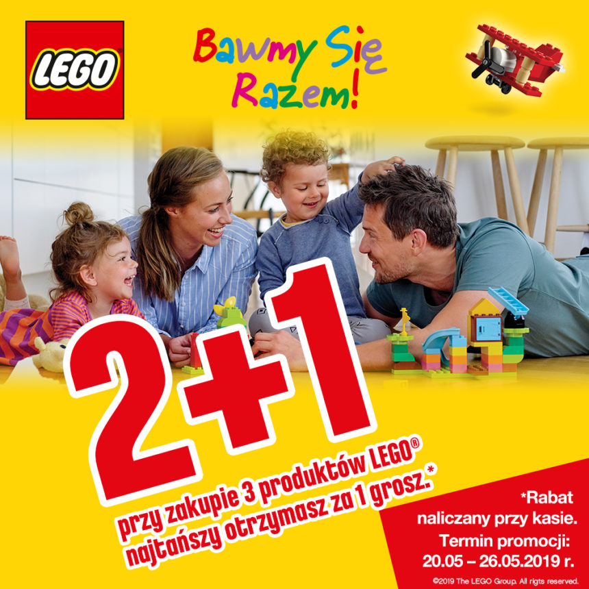 TOP TOYS: zestawy LEGO 2+1