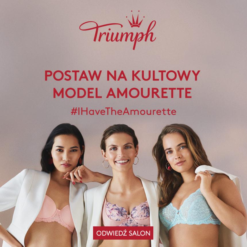 TRIUMPH: postaw na kultowy model Amourette