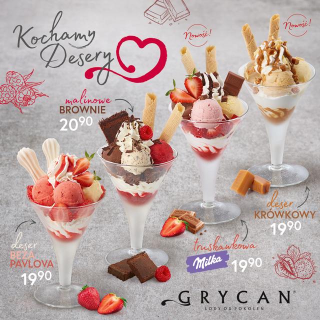 GRYCAN: kochamy desery