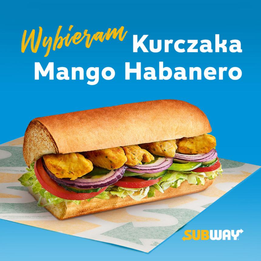 Kurczak Mango Habanero: nowość w menu restauracji Subway