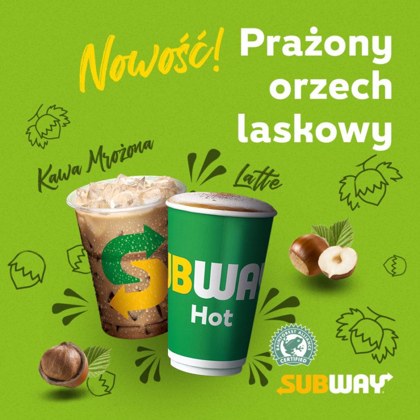Wiosna w restauracjach Subway: nowa kawa – prażony orzech laskowy!