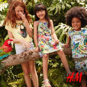 H&M: wyjątkowa kolekcja dziecięca w tropikalne wzory