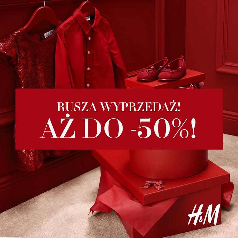 H&M: letnia wyprzedaż do -50%