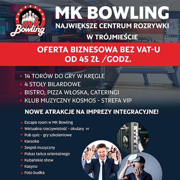 MK BOWLING: oferta biznesowa
